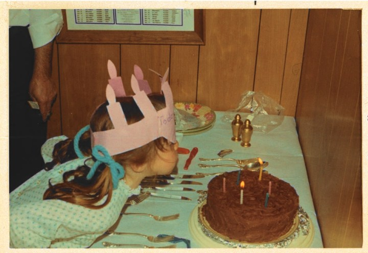 Here's to birthdays, wishes, chocolate cake and crowns!
