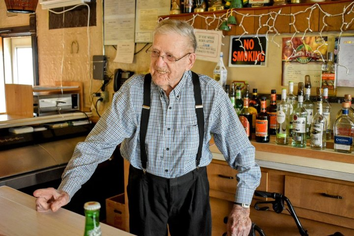 The oldest bartender in the world