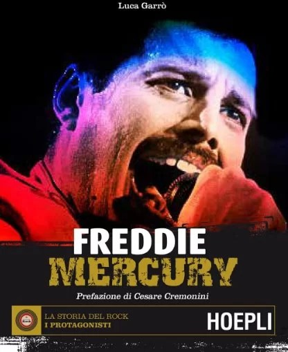 Freddie Mercury libro  Luca Garr  Hoepli  Intervista