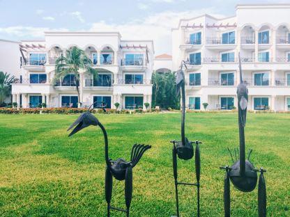 Courtyard at The Royal Playa del Carmen