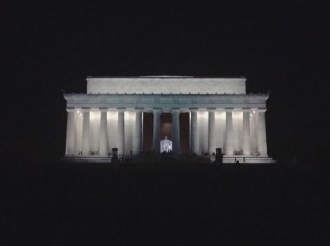 Lincoln Memorial at night