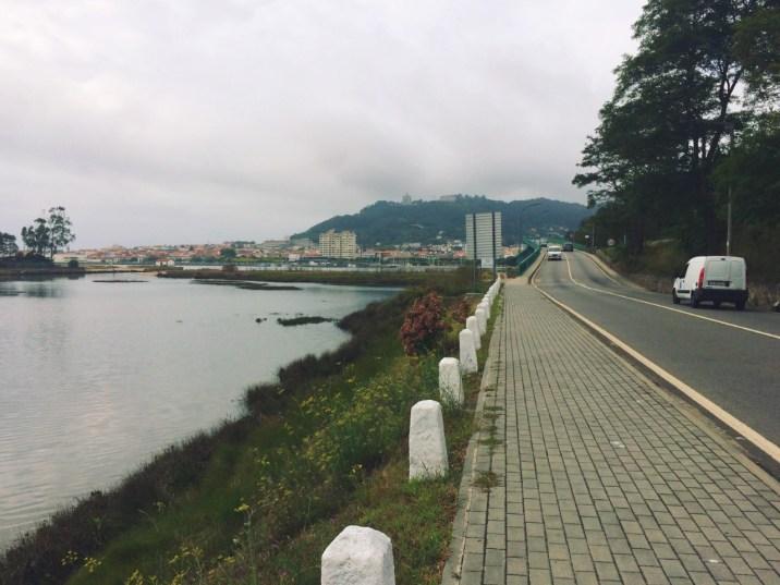 Entering Viana do Castelo
