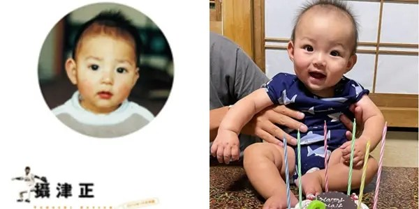 摂津正,幼少期,長男,子供,そっくり