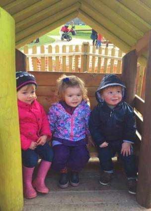 Three Chums in the toddler area