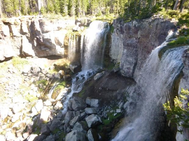 Paulina Falls from the top, Oregon