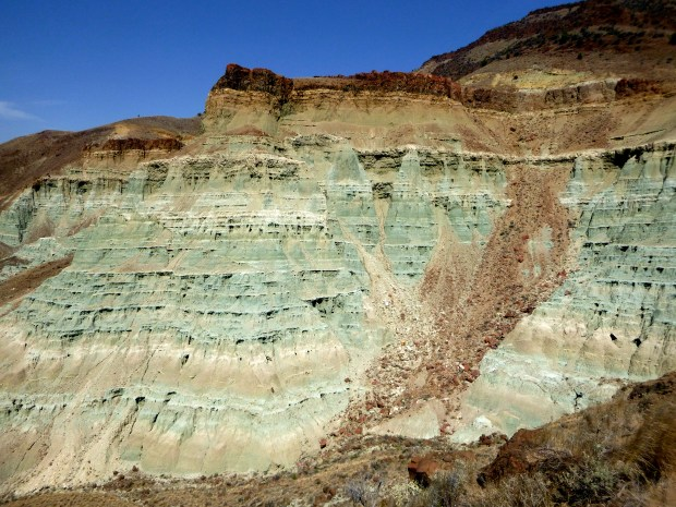 Green claystone of Foree section, Sheep Rock Unit, John Day Fossil Beds, Oregon