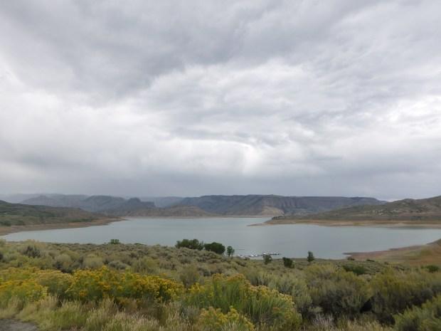 Blue Basin Reservoir, Curecanti Recreational Area, Colorado