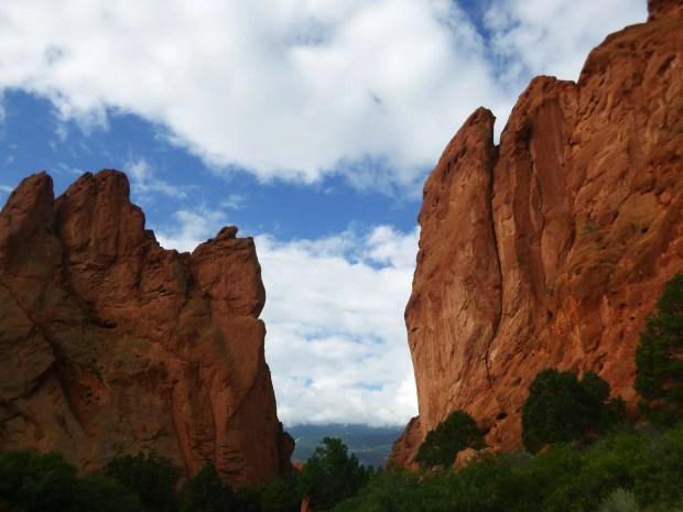 Garden of the Gods, Gateway Trail, Colorado Springs, Colorado
