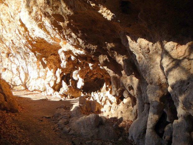 The Grotto, McKittrick Canyon Trail, Guadalupe Mountains National Park, Texas