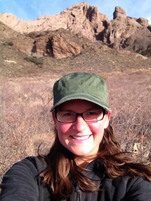 Me on Crawford Trail, Dripping Springs Natural Area, Las Cruces, New Mexico