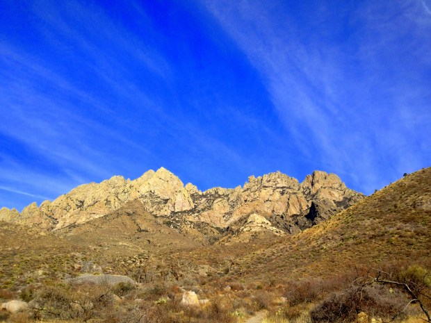 View along Fillmore Trail, Dripping Springs Natural Area, Las Cruces, New Mexico