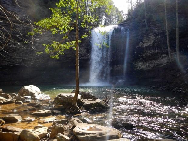 Cherokee Falls, Waterfalls Trail, Cloudland Canyon State Park, Georgia