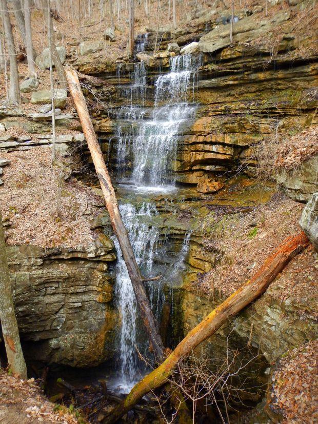 Bridal Veil Falls, Sewanee Domain, Tennessee