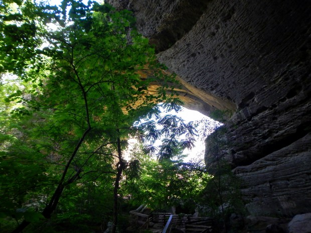 Natural Arch from the back, Big South Fork National Recreation Area, Kentucky