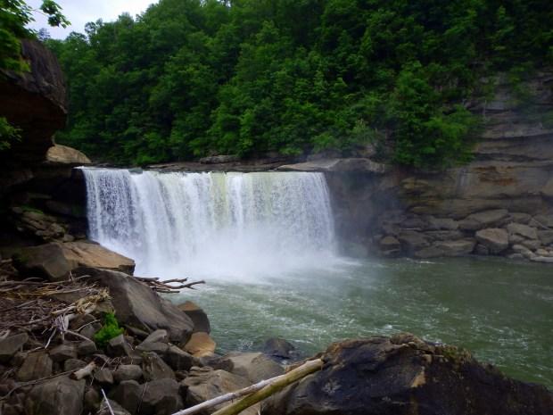 Cumberland Falls, Cumberland Falls State Park, Kentucky