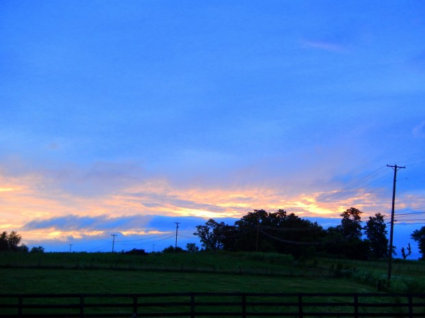 Sunset, somewhere in Kentucky