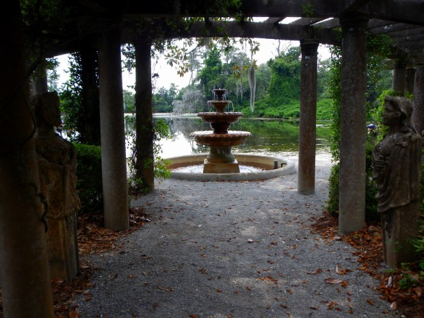 Under the pergola, Pergola Garden, Airlie Gardens, Wilmington, North Carolina