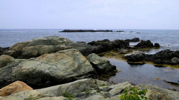 Rocks, Cliff Walk, Newport, Rhode Island