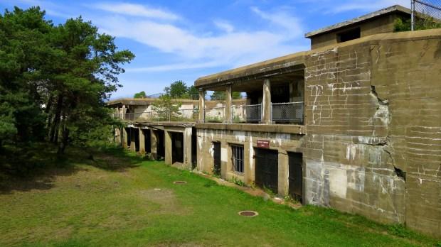Battery Hunter, Fort Stark, New Castle, New Hampshire