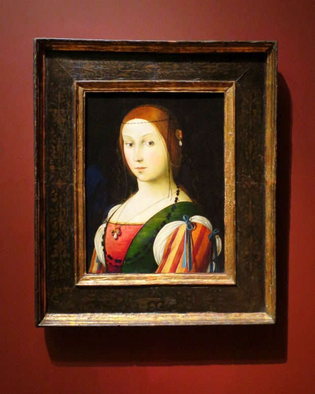 Portrait of a Lady, Lorenzo Costa, ca. 1505, Currier Museum of Art, Manchester, New Hampshire