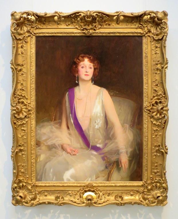 Grace Elvina, Marchioness Curzon of Kedleston, John Singer Sargent, 1925, Currier Museum of Art, Manchester, New Hampshire