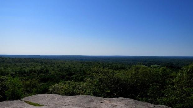 View from the top of Bradbury Mountain, Summit Trail, Bradbury Mountain State Park, Maine