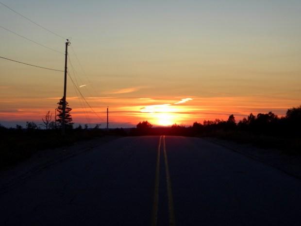Sunset, Maine