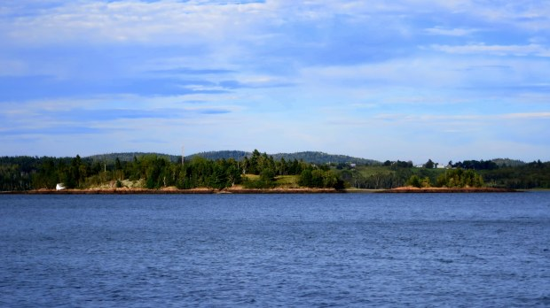 St. Croix Island, viewed from St. Croix Island International Historical Site, Maine