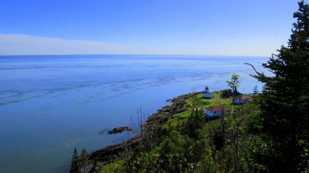 View of Cape D'Or, Nova Scotia, Canada
