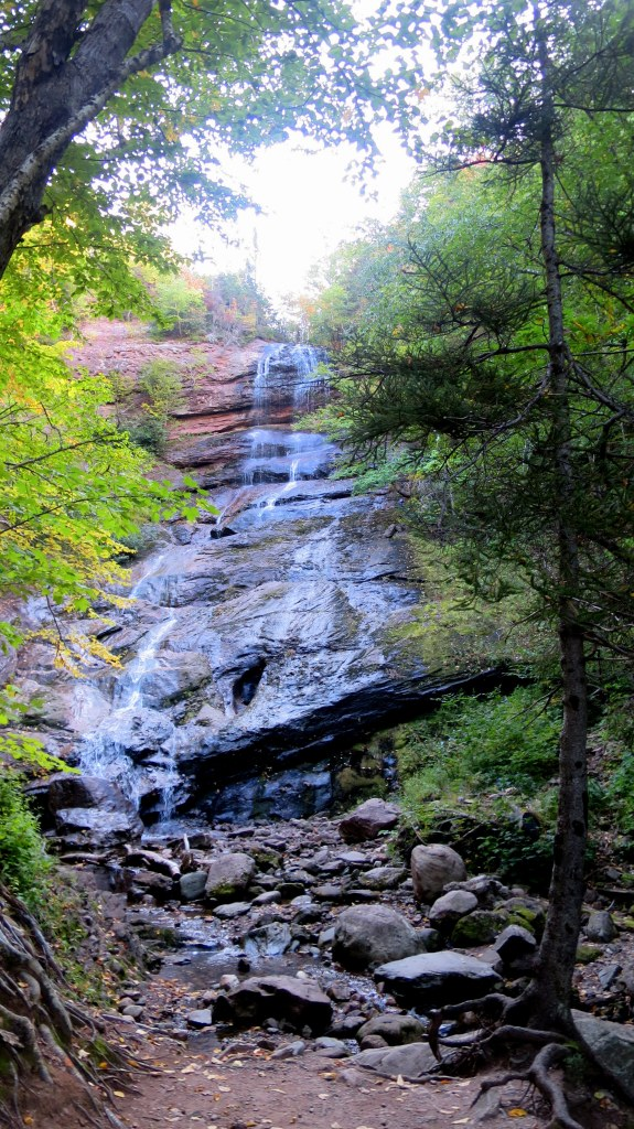 Beulach Ban Falls, Cape Breton Highlands National Park, Nova Scotia, Canada