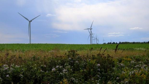 Wind farm, Prince Edward Island, Canada