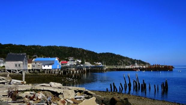Tiverton Harbor, Long Island, Nova Scotia, Canada