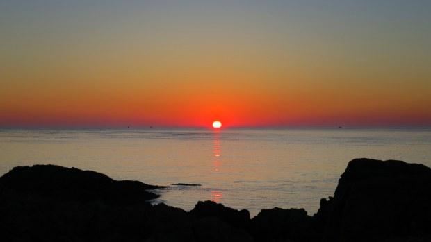Sunset from Western Light, Brier Island, Nova Scotia, Canada