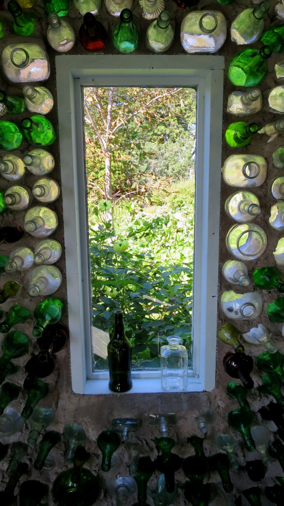 Window, Tavern, Bottle Houses, Prince Edward Island, Canada