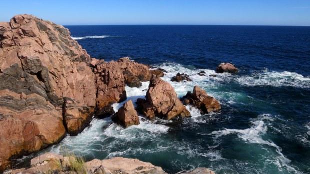 Gneiss and Schist, White Point, Cape Breton Island, Nova Scotia, Canada