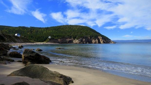 Cove at White Point, Cape Breton Island, Nova Scotia, Canada