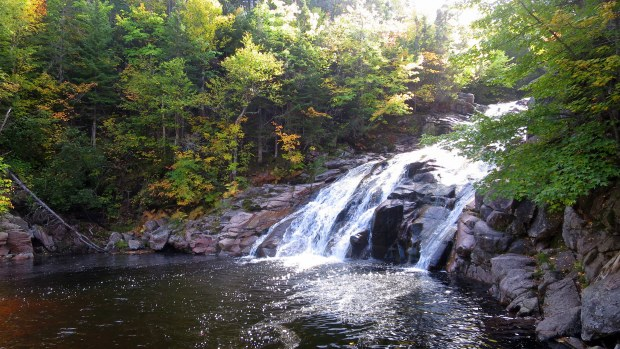 Mary Ann Falls, Cape Breton Highlands National Park, Nova Scotia, Canada