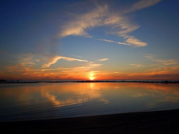 Sunset over North Beach, Fort De Soto Park, Florida