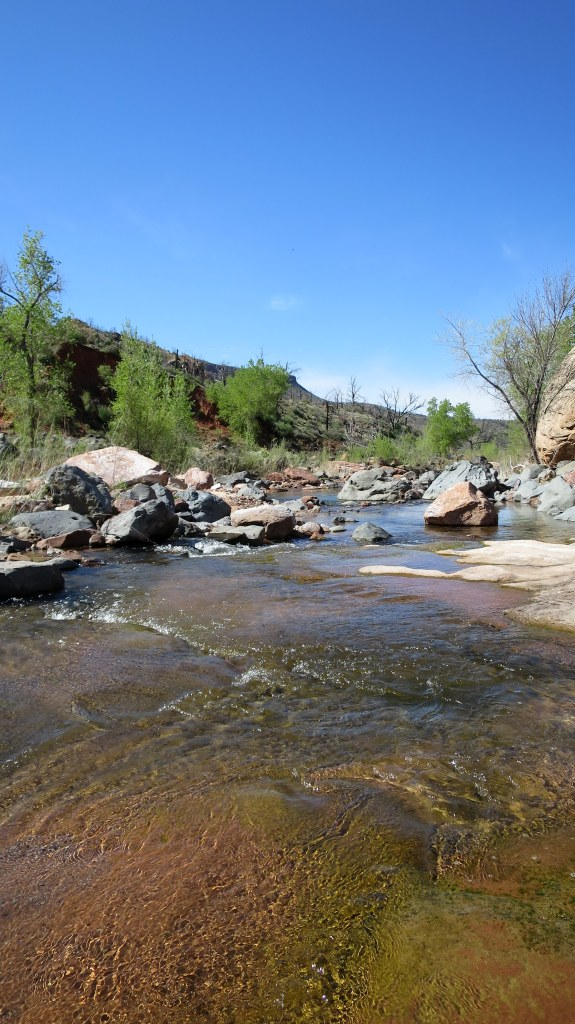 La Verkin Creek Canyon, Zion National Park, Utah