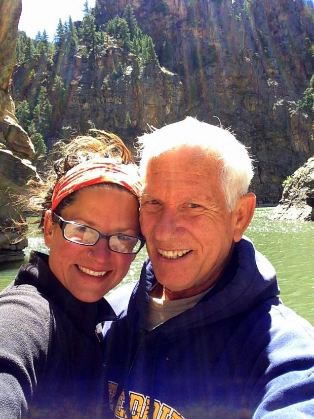 Tom and I, Curecanti Creek Trail, Curecanti National Recreation Area, Colorado