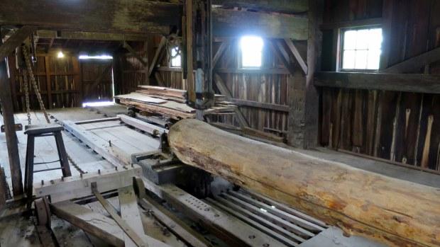 Sawmill, Greenfield Village, Michigan