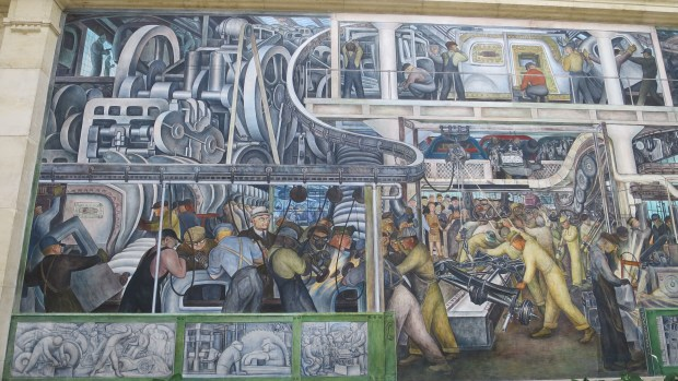 Detroit Industry Murals, Diego Rivera, 1932 – 1933, Detroit Institute of Arts, Michigan