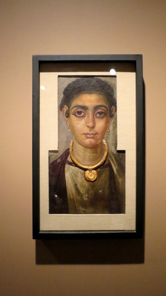 Egyptian-Roman portrait of woman, ca. 130 – 160 AD, Detroit Institute of Arts, Michigan