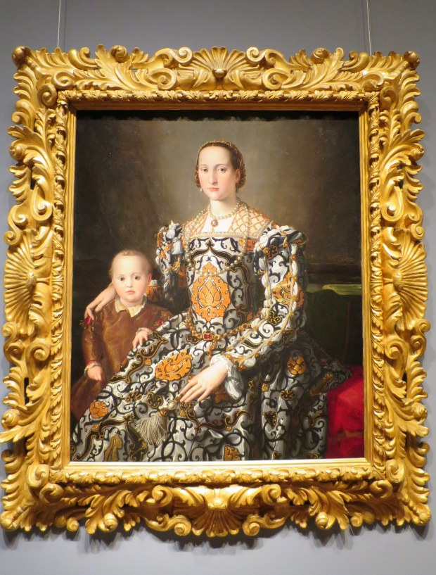 Eleonora of Toledo and Her Son, Agnolo Bronzno, 1545 – 1550, Detroit Institute of Arts, Michigan
