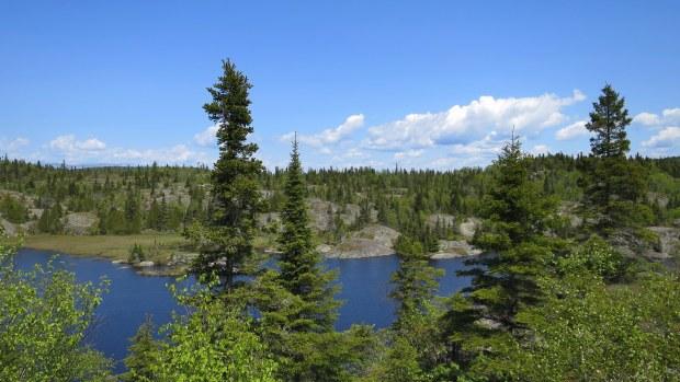 Halfway Lake, Pukaskwa National Park, Ontario, Canada