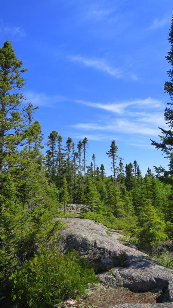 Superior Trail, Rainbow Falls Provincial Park, Ontario, Canada