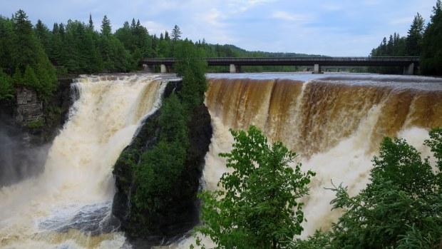 Kakabeka Falls Provincial Park, Ontario, Canada