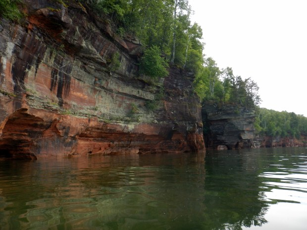 Cliffs, Apostle Islands National Lakeshore, Wisconsin