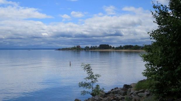 Lake Superior shore, Marquette, Michigan