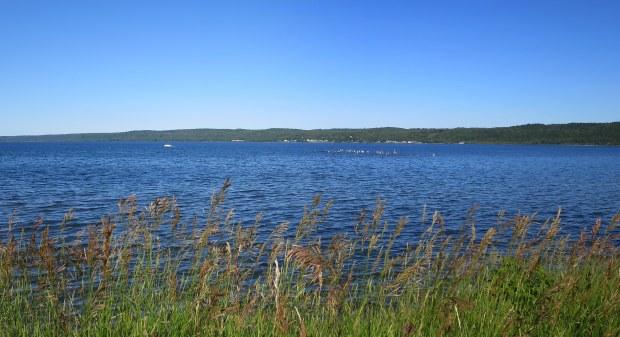 Munising Bay in late afternoon, Michigan
